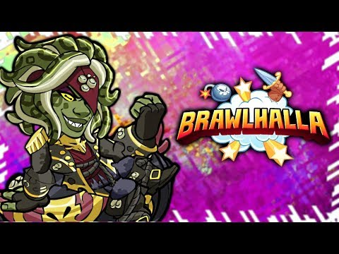 300% Damage Insanity & Grinding to 25!! • Brawlhalla 1v1 Gameplay