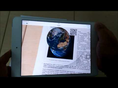 Augmented Reality for Education (Earth 3D)