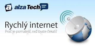 Proč je rychlý internet pomalý? Problémy, na které můžete narazit! - AlzaTech #357