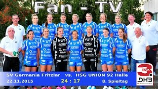 Fan-TV SV Germania Fritzlar vs. HSG 92 Union Halle 24:17