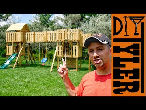Building the World's Greatest Swing Set | Part 1