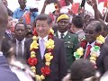 Chinese President Arrives for State Visit to Zimbabwe