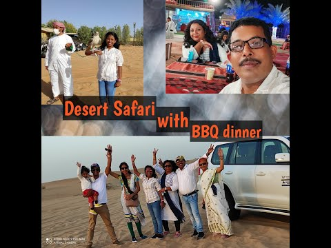 Desert Safari, Belly dance with BBQ dinner // Day 2🐪😊