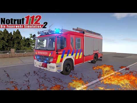 Emergency Call 112 The Fire Fighting Simulation 2 - Traffic Accident ! 4K  