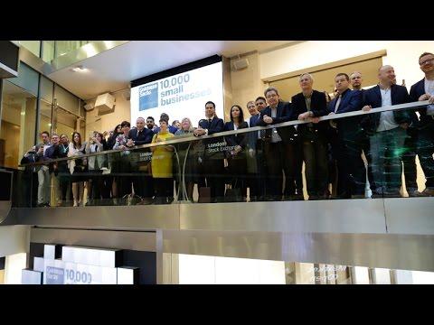 Goldman Sachs 10,000 Small Businesses UK Alumni Open The London Stock Exchange