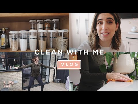 CLEAN WITH ME (OVEN CLEANING FAIL!) | Lily Pebbles