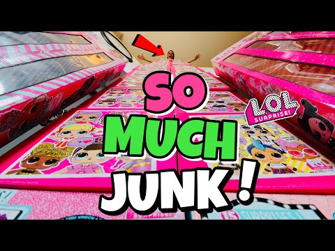 LOL Surprise is JUNK!! My Entire Collection of LOL Surprise Junk! ALL SERIES! Organization & Storage