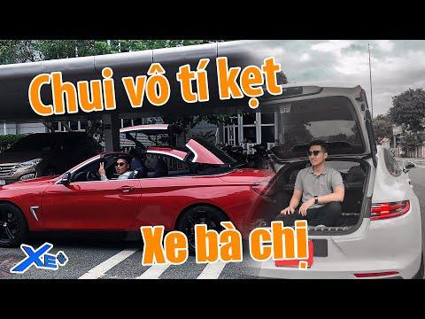 Trải nghiệm BMW 420I mui trần và Porsche Panamera của pà chị gái | Xe Cộng Vlog | Vlog #5