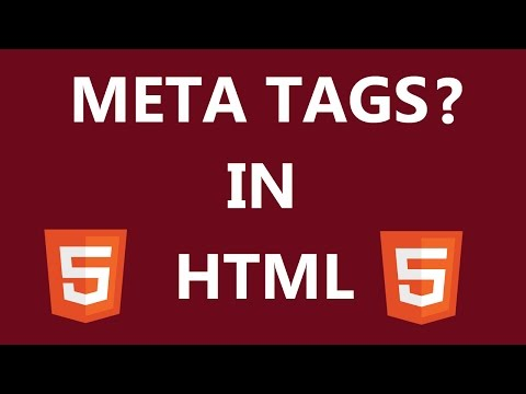 What Is Meta Tags In HTML?