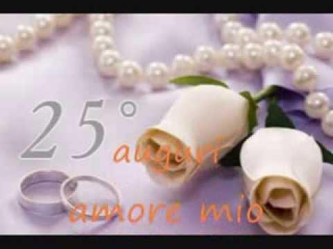 Nostro 25 anniversario di matrimonio 0001 youtube for Auguri per 25 anniversario di matrimonio