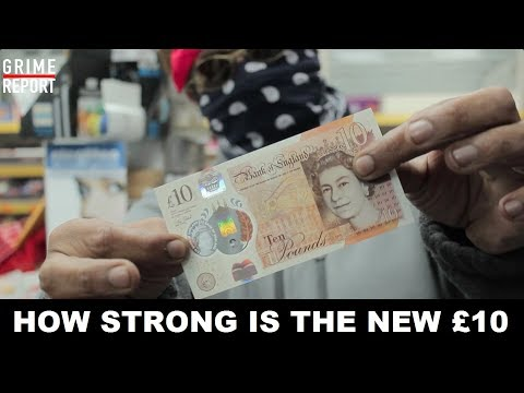 How Strong Is The New £10 Note? - Science 4 Da Mandem | Grime Report Tv