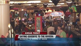 People visiting Riviera one last time