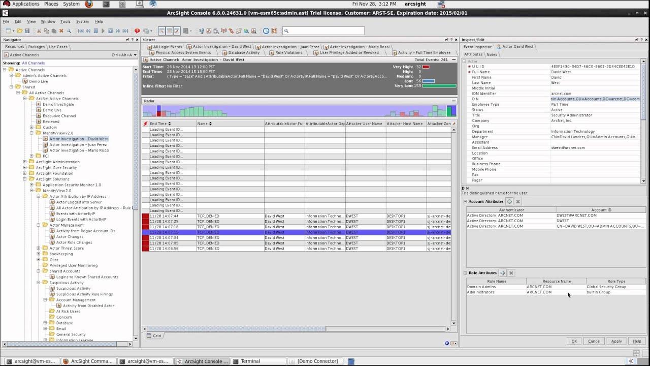 Demo of hp arcsight esm 68c new release youtube baditri Gallery