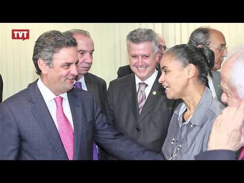 Aécio diz que apoio de Marina Silva não visa cargos políticos