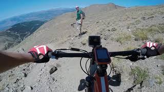 Puigmal, Bajada en bici