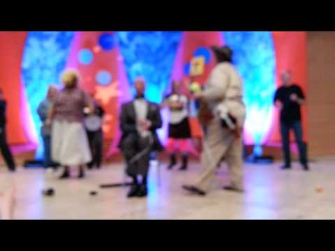 BBB Performs 9 To 5 At Dayton Business Journal Best Places To Work Air Guitar Challenge