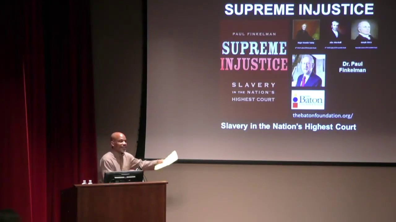 Supreme Injustice Slavery in the Nation/'s Highest Court