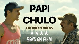 PAPI CHULO Starring Matt Bomer | MOVIE REVIEW - BFI London Film Festival 2018