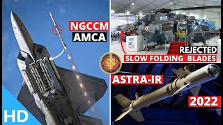 Indian Defence Updates : New NGCCM For AMCA,Astra-IR Trials By 2022,ALH Wing Slow,Rafale V/S Junk-20