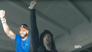 Eminem Rips Donald Trump In BET Hip Hop Awards Freestyle Cypher REACTION