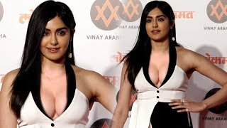 Adah Sharma Looking Gorgeous at Lokmat Most Stylish Award 2018 | Full Video