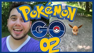 POKEMON GO EPISODE 2! Let's Play Pokemon GO! EEVEE, EGGS, AND THE GYM!
