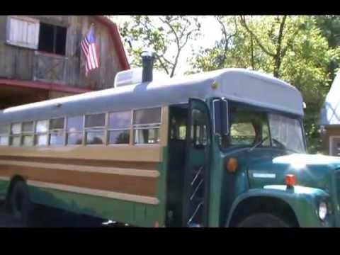Classic 1975 School Bus Conversion Camper Youtube