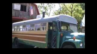 Classic 1975 School Bus Conversion Camper