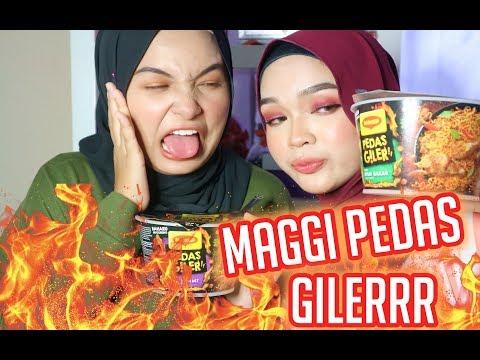 MAGGI PEDAS GILER CHALLENGE | Zakirah Zainal