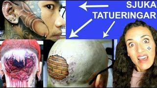 10 HELT SJUKA Tatueringar - Man kan inte tro att detta är sant...