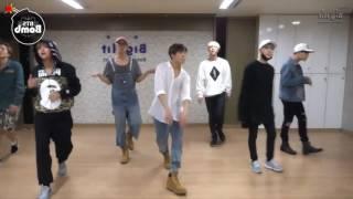"~BTS~""Sliver Spoon (Baepsae)"" Dance Practice.😂👌"