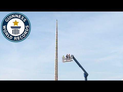 Tallest Lego Tower - Guinness World Records