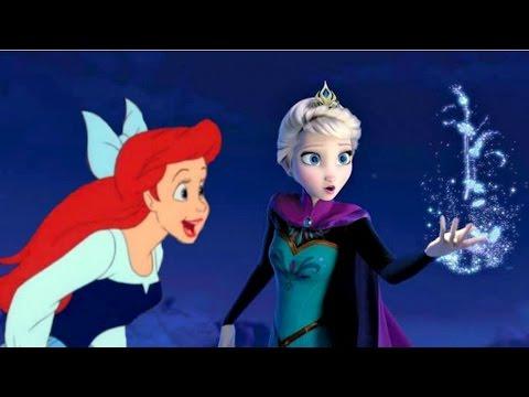 Nàng tiên cá và Nữ hoàng băng giá so tài công chúa - Elsa And Ariel Prom Contest