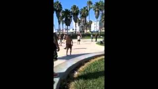 Old Man Dancing in Venice Beach!! Thumbnail