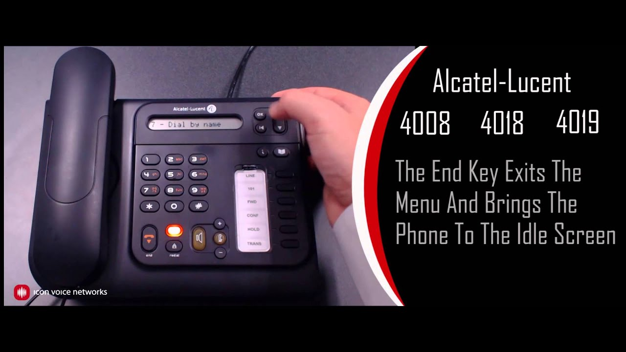 alcatel lucent iptouch 4008 4018 4019 overview for the omnipcx rh youtube com alcatel lucent telephone 4019 manual alcatel lucent 4019 manual portugues