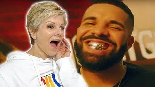 Mom REACTS to Drake - In My Feelings