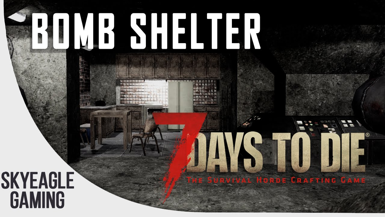 7 days to die hidden bomb shelter bunker location guide