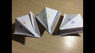 как сделать ворону из бумаги оригами своими руками без клея видео