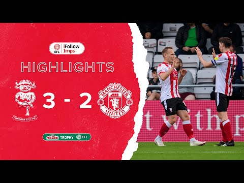 Lincoln Manchester Utd U21 Goals And Highlights