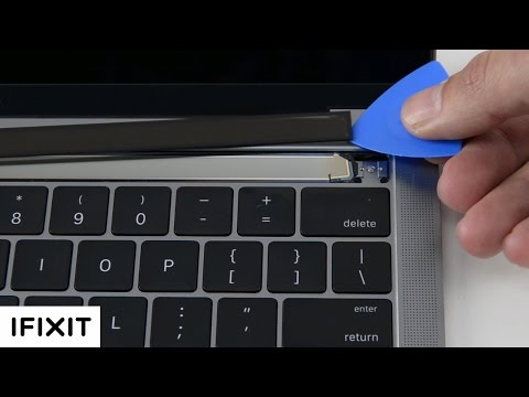 MacBook Pro with Touch Bar and Surface Studio Teardowns! It