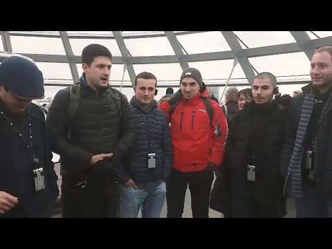 Georgians singing in Germany