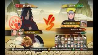 Naruto Shippuden Ultimate Ninja Storm Revolution pc SAVE 100% todos personagens desbloqueados