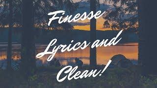 Finesse | Bruno Mars | ft. Cardi B | Lyrics and Clean Version!