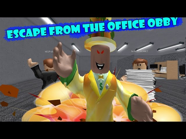 Roblox : Escape From The Office  ???????????????????