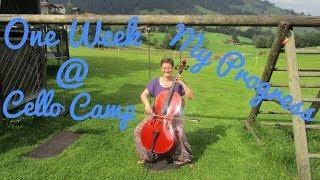 Cello Camp 2018 Vlog (One Week Prog...
