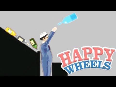 O NOVO DESAFIO da GARRAFA!!! - HAPPY WHEELS #66