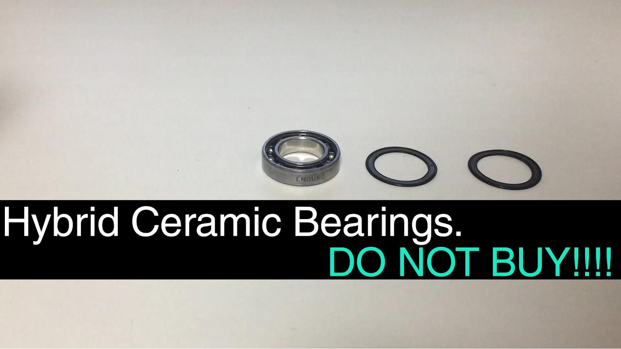 Hybrid Ceramic Bearings Do Not Buy Youtube
