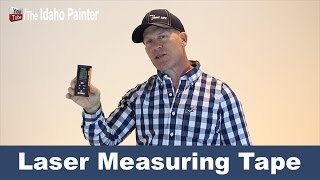 Measure with a laser tape measure.  Tape measure HACKS.