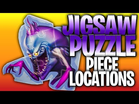 Search Jigsaw Puzzle Pieces Under Bridges And In Caves - All 7 Jigsaw Puzzle Piece Locations!