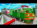BECOMING A TRAIN DRIVER IN MINECRAFT!